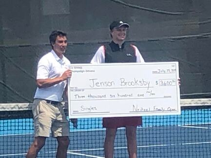 Two Back To Back $25,000 Titles For Brooksby