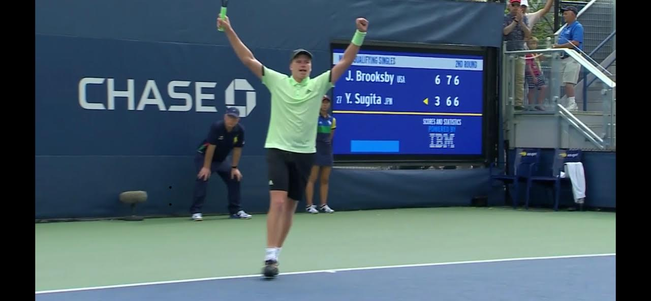 BROOKSBY'S US OPEN DREAM CONTINUES.