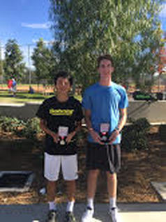 HUANG WINS THE LEVEL TWO IN IRVINE, CA