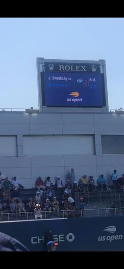 BROOKSBY IN THE LAST ROUND OF US OPEN QUALIES