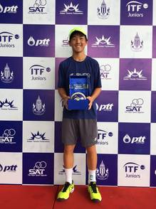 LEE WINS HIS FIRST ITF