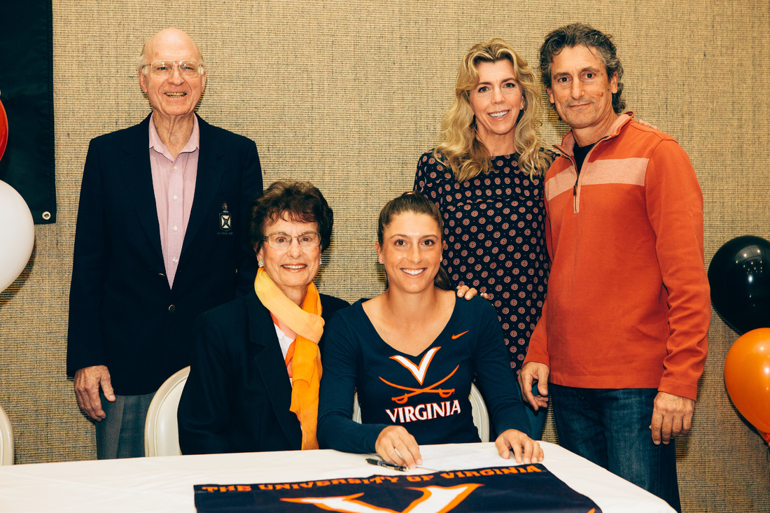 TENNIS LETTERS of INTENT