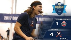 UNIVERSITY OF VIRGINIA WINS THE 2017 NATIONAL INDOOR CHAMPIONSHIP TITLE