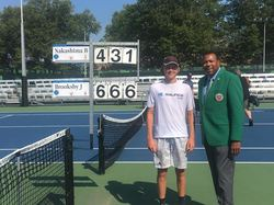 BROOKSBY WINS THE JUNIOR NATIONAL CHAMPIONSHIP TITLE AND US OPEN WILD CARD