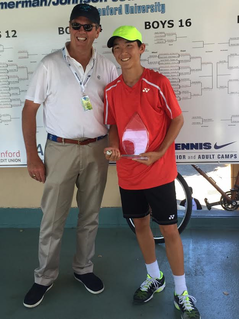 KARL LEE wins Zimmerman/Johnson USTA National Tournament, AUSTEN HUANG takes second.