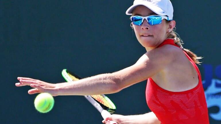 Katie Volynets wins her first 100k ITF