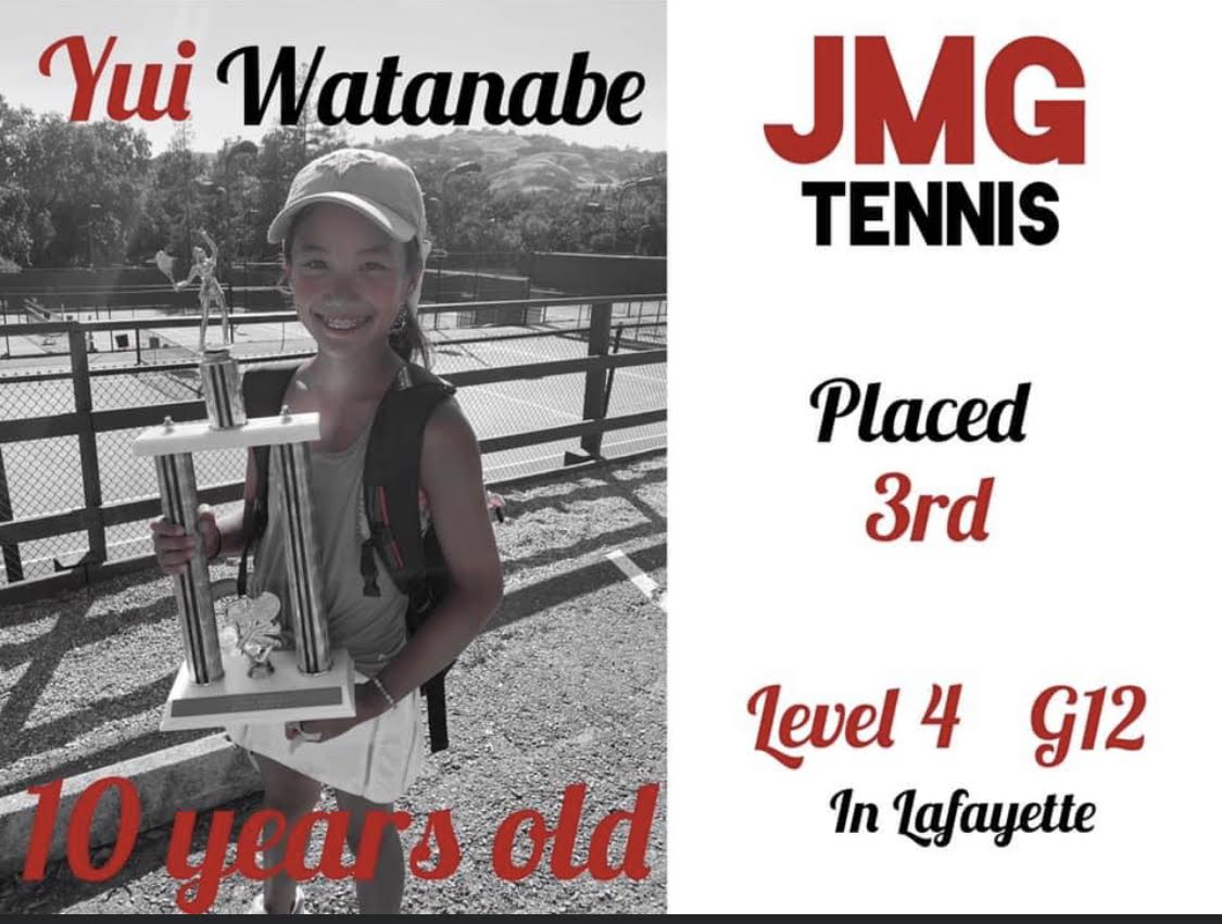 Yui Watanabe takes 3rd place at Level 4