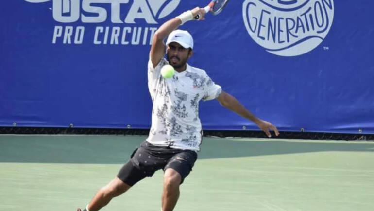 Govind Nanda makes his first semi at ATP challenger!